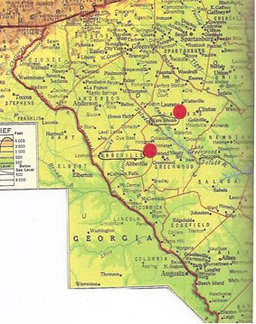1954 map showing Abbeville